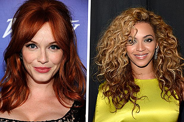 Ide Cerah: Celebrity Fall Hair Color