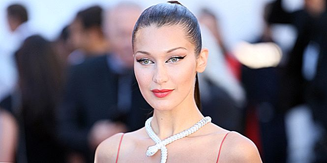 Pratos de Bella Hadid na Dior Makeup e Craving Pizza